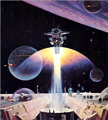 Роберт Маккалл. Космическая станция на орбите