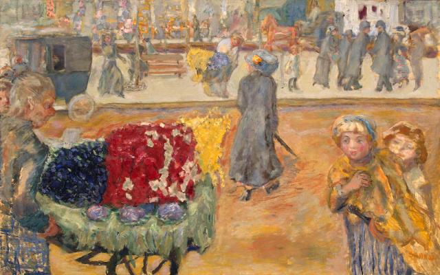 Pierre Bonnard. Evening in Paris