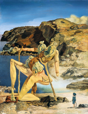 Salvador Dali. The specter of sex appeal