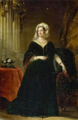 Кристина Робертсон. Портрет княгини Татьяны Васильевны Юсуповой (1767-1841). 1841