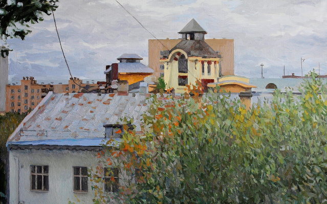 Konstantin Ekonomov. Mysterious tower