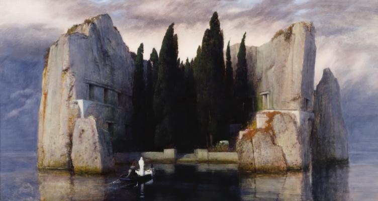 Arnold Böcklin. Isle of the dead