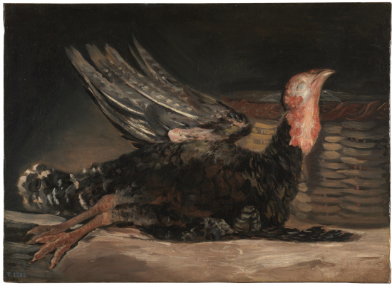 Francisco Goya. Dead Turkey