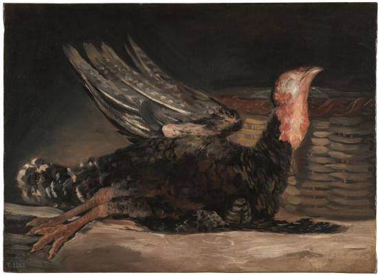 Франсиско Гойя. Мёртвая индейка