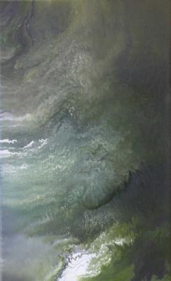 "Alla Struchayeva. Painting ""Galactic Nebula"""
