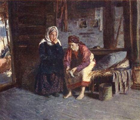 Abram Arkhipov. Visiting the sick