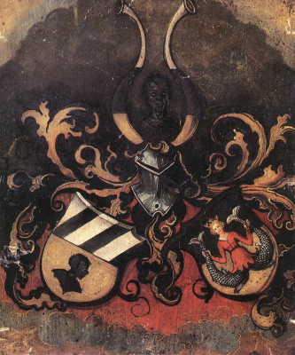 Альбрехт Дюрер. Объединенный герб семей Тухер и Риттер