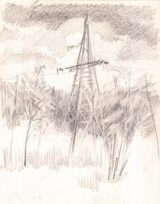 Arkady Pavlovich Laptev. Power lines