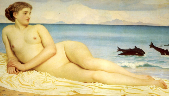 Frederic Leighton. Aktea, nymph shore