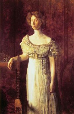 Thomas Eakins. Old-fashioned dress. Portrait of miss Helen Parker