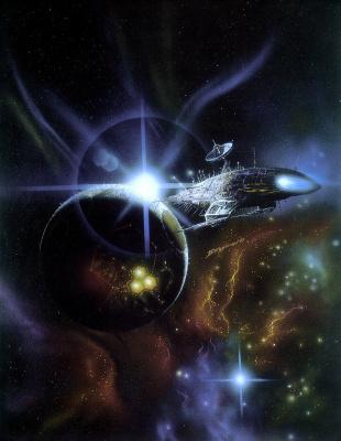 Боб Эгглтон. Космическое пространство