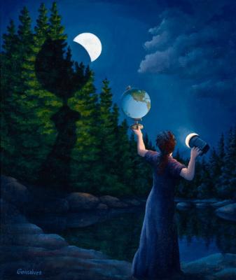 Роб Гонсалвес. Лунное затмение
