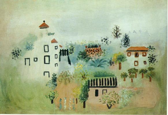Пабло Пикассо. Пейзаж