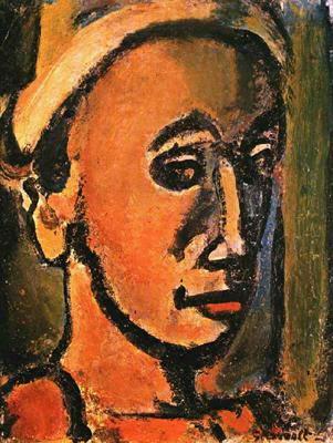 Жорж Руо. Мужской портрет