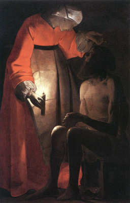 Georges de La Tour. Wife