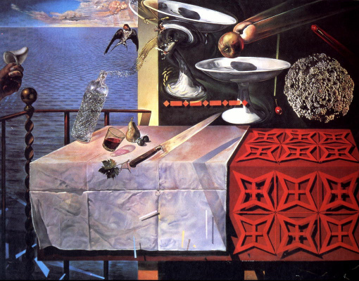 Salvador Dali. Living still life