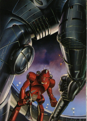 Boris Vallejo (Valeggio). Big robot