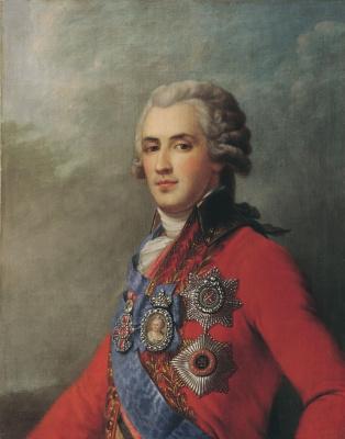 Иван Егорович Эггинк. Портрет П.А. Зубова. XIX век