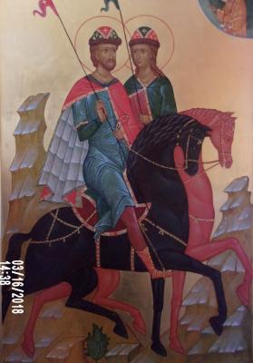 Irina Alexandrovna Ivanova. The Righteous Princes Boris and Gleb