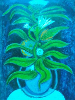 Вячеслав Коренев. Still life with a flower