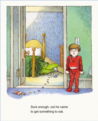 Мерсер Мейер. Иллюстрация к книге Там крокодил под моей кроватью 15
