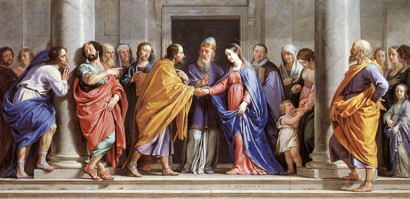 Philippe de Champigny. Marriage Of The Virgin