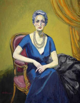 Kees Van Dongen. Portrait of Madame V