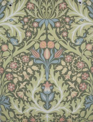 William Morris. Autumn leaves