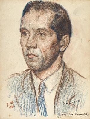 Portrait of the artist N. I. Vasilyev. 1926