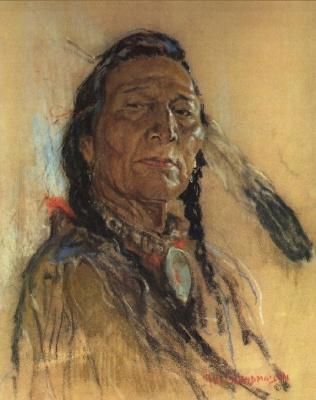 Николас де Гранмезон. Индейский портрет 59