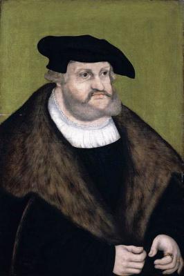 Lucas Cranach the Elder. Portrait of the elector Frederick