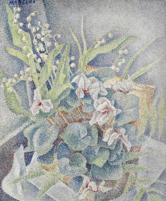 Maria Bronislavovna Marevna (Vorobyeva-Stebelskaya). Still life.1936