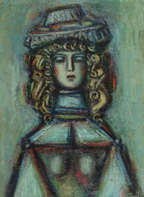 Александр Григорьевич Тышлер. Портрет дамы