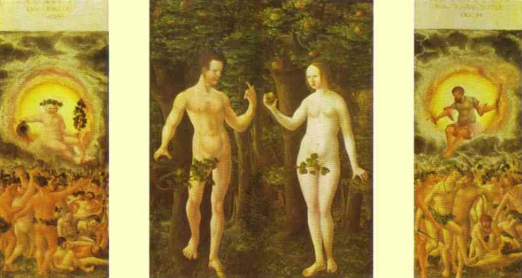Albrecht Altdorfer. Adam and eve
