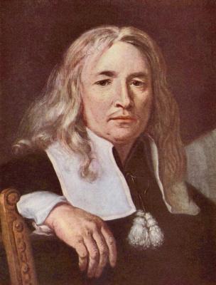 Карел Шкрета. Портрет светловолосого мужчины