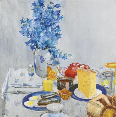 Yuri Ivanovich Pimenov. Breakfast