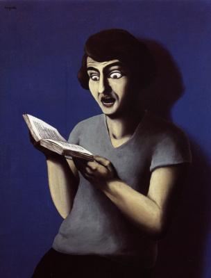 Рене Магритт. Покорный читатель