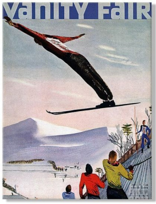 Александр Александрович Дейнека. Обложка журнала Vanity Fair, январь 1936