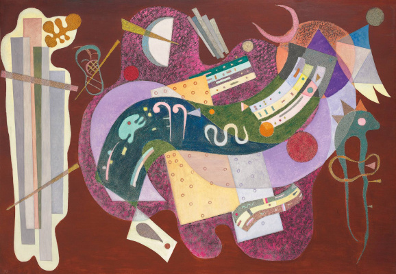 Wassily Kandinsky. Straight and curved