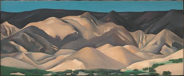 Джорджия О'Киф. Возле Абиквиу, Нью-Мексико