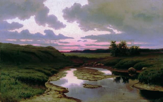 Efim Efimovich Volkov. Twilight