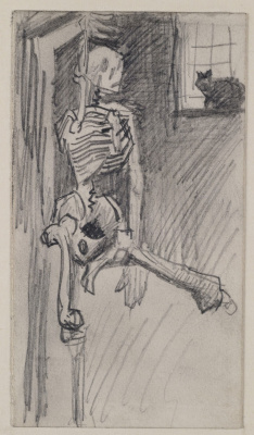Винсент Ван Гог. Скелет