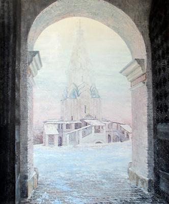 Olesya Rapotkin. Church of the Ascension in Kolomenskoye