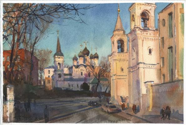 Anton Batov. Улица Забелина