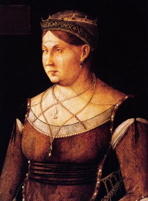 Gentile Bellini. Catherine Cornaro