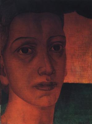 Kuzma Sergeevich Petrov-Vodkin. Monumental head