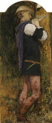 Arthur Hughes. Orlando