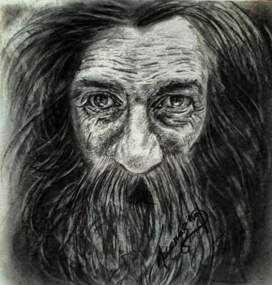 Xenia Stroganova. The old man