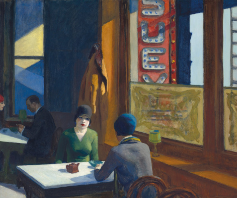 Edward Hopper. Chop Suey