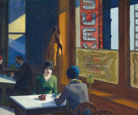 Edward Hopper. Chop sui